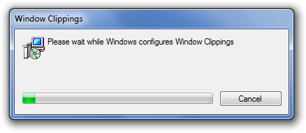 Installing Window Clippings
